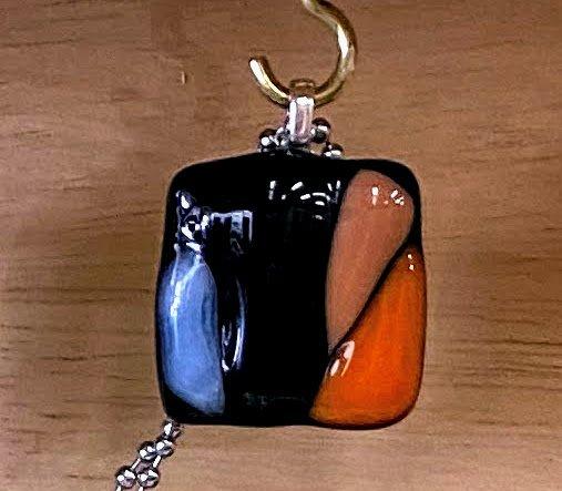 Pendant by MWW - Black w Vibrant Colors